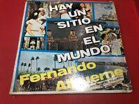 Fernando Albuerne Hay Un Sitio En El Mundo Spanish/Tejano LP LP-3107 Piranha(b/t