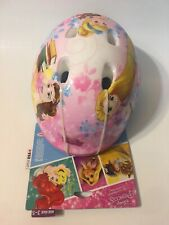 Bell Disney Princess Toddler Bicycle Helmet  Age 3-5 Bike Pink Blue