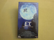 E.T. The Extra-Terrestrial (VHS, 1988) Green Tape Door - MCA Home Video Sealed