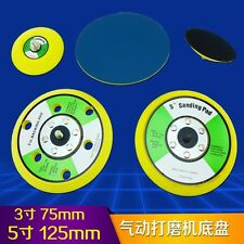 5 inch Orbital Sanding Pad Sticky PSA Feather or Velcr 125mm Disc 5/16 inch 3 in