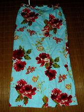 Geblümte Maxiröcke aus Polyester für die Freizeit