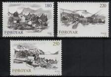 Faeroer/Faroer postfris 1982 MNH 72-74 - Dorpen