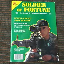 SOLDIER OF FORTUNE MAGAZINE - APRIL 1982 - VINTAGE - NOS