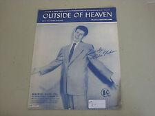 Eddie Fisher: en dehors du ciel Sheet Music