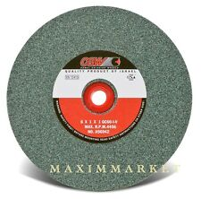 "CGW Grinding Wheel Green Silicon Carbide 6""x1""x1"" Choice of grit 100, 80 or 60"