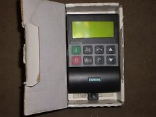 SIEMENS CLEAR TEXT OPERATOR PANEL , 6SE3290-OXX87-8BFO , (P1)