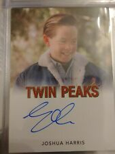 Joshua Harris Rittenhouse TWIN PEAKS Archives 2019 Autograph Card Auto