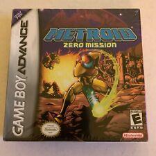 Metroid: Zero Mission (Nintendo Game Boy Advance, 2004) NEW UNOPENED