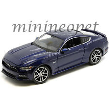 MAISTO 38133 EXCLUSIVE EDITION 2015 FORD MUSTANG GT 1/18 DIECAST MODEL CAR BLUE