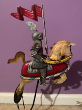 Knight In Armor On Horse Metal Pendulum Balance