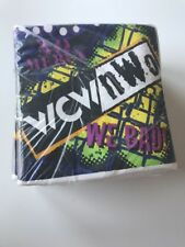WCW/nWo napkins large lot of 5 packs of 16 each = 80 total Vinage