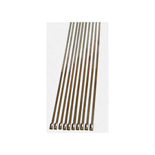 """Stainless Steel Cable Ties 12""""  25pc set 55 Lb Capacity CBS #145"""