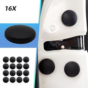 16x Universal Car Interior Accessories Door Lock Screw Protector Cover Trim Cap