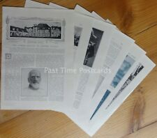 WW1 THE LINKED BATTLES OF EASTERN FRANCE 1914 The Great War 10 x Original Prints
