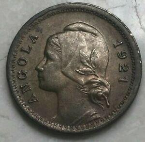1921 Angola 20 Centavos