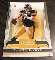 Ben Roethlisberger 2006 Donruss Gridiron Gear Steelers Card #80  *168*