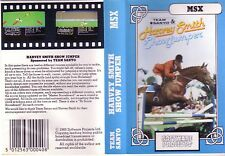 Harvey Smith Show Jumper (Softwareprojekten 1985) MSX Game-Clamshell GC < MQ >