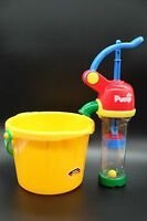 REAL PUMP AND BUCKET Bath and Water table TOY