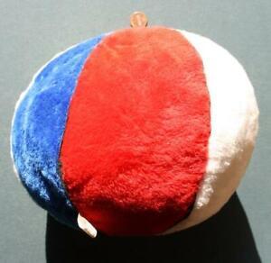 1960-70s Era ABA Outlaw League Red,White & Blue ball pillow souvenir with tag!
