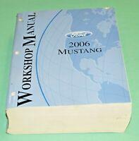 2006 Ford Mustang Factory Service Shop Manual Repair Book