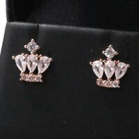 Gorgeous Pear Cubic Zirconia Earring Stud Women Wedding Jewelry Gift Free Ship
