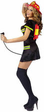 NEW Fun World 121564 Adult Women Put Out the Fire Costume Sz S/M Cosplay USA