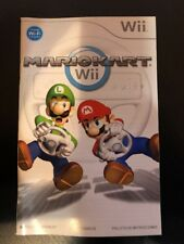 Mario Kart Instruction Booklet Manual - ( Nintendo Wii ) ! No Game , Manual Only