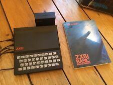 Sinclair ZX81 Computer - Boxed With 16K Ram Untested .