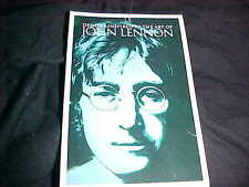 Hard Rock John Lennon Art Chicago Live For Today Black Crew Neck T-shirt L New