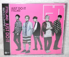 FTIsland JUST DO IT 2016 Taiwan Ltd CD+DVD+Card (Ver.A) F.T Island