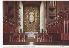 Old Postcard - Coventry Cathedral Choir and Sanctuary - Unposted 0539