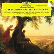 Brahms: Liebeslieder, Walzer Op.52 & 65 / Mathis, Engel, Fassbender, Schreier CD