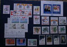Liechtenstein stamps. Most of 1992 issues, MNH.