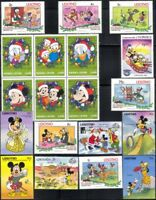 New for 2018 Disney Stamp Selection/ Superb Stocking Filler/Mickey/Minnie b1470j