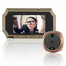 "4.3"" LCD Digital Peephole Viewer 160° Door Eye Doorbell Video Color IR Camera"