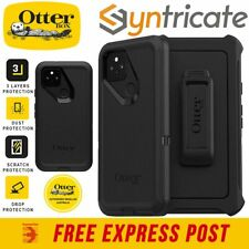 Google Pixel 5 OTTERBOX Defender Screenless Rugged Outdoor Stand Case - Black