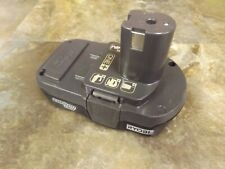Ryobi P102 Genuine OEM 18V One +  Lithium Ion Compact Battery - Tested