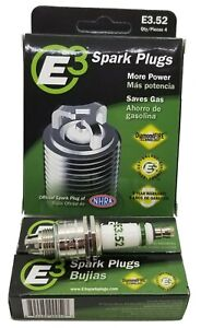 E3.52 E3 Premium Automotive Spark Plugs - 6 SPARK PLUG Warranty 5 Year/100,000