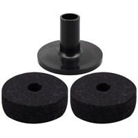 Cymbal Stand Felt Washer and Plastic Drum Cymbal Stand Sleeves Replacement O6E8