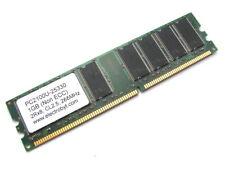Electrobyt 1GB PC2100U-25330 PC2100 DDR RAM Memory 266MHz CL2.5