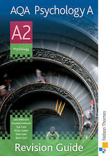 NEW AQA Psychology A A2 Revision Guide by Julia Willerton