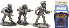 Vintage Doctor Who Miniature Boxed Set of 3 Unit Troops/Sgt Benton FASA-9506