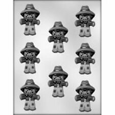 Scarecrow Chocolate Candy Mold  Thanksgiving Halloween Straw