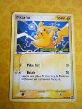 Carte Pokemon Pikachu Promo ex Emeraude 60/106 Français Excellent Etat Rare