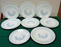 15pc Corelle Dishes Colonial Mist Floral Dinner Plate Dessert Set Blue White (JB