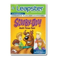NEW $24 Leapfrog Leapster Learning Game Scooby - Doo, Math Times Two