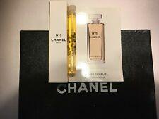 Rare CHANEL No 5 ELIXIR SENSUEL Fluid Body Gel perfume .06oz sample vial