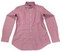 Ralph Lauren Women's Custom Fit Long Sleeves Shirt In Size 10 Purple