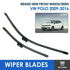 Wiper Blades Windscreen Front Window Windshield For Volkswagen Polo 2009-2016