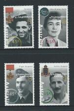 AUSTRALIA 1995 Australian WWII Heroes - 1st Series Set MNH (SG 1521-1524)